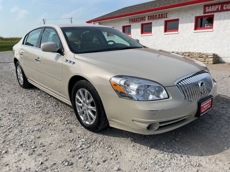 2011 Buick Lucerne for sale at Sarpy County Motors in Springfield NE