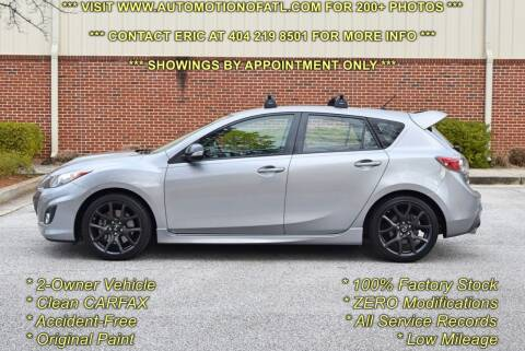 2013 Mazda MAZDASPEED3 for sale at Automotion Of Atlanta in Conyers GA