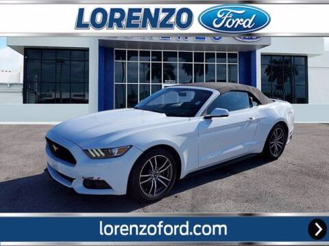 2017 Ford Mustang for sale at Lorenzo Ford in Homestead FL