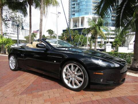 2007 Aston Martin DB9 for sale at Choice Auto in Fort Lauderdale FL