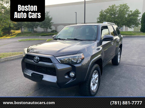 2014 Toyota 4Runner for sale at Boston Auto Cars in Dedham MA