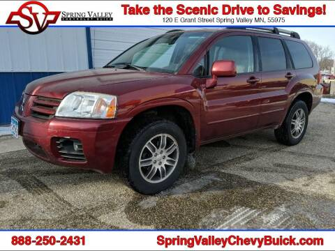 2005 Mitsubishi Endeavor for sale at Spring Valley Chevrolet Buick in Spring Valley MN