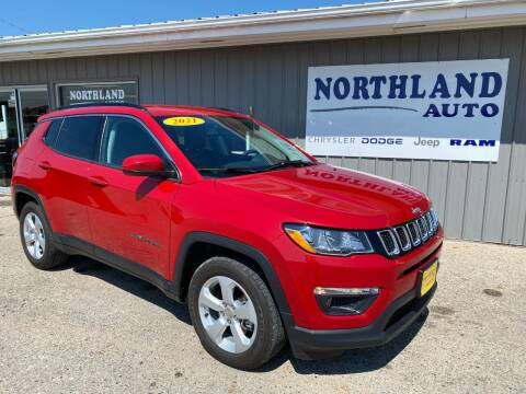 2021 Jeep Compass for sale at Northland Auto in Humboldt IA