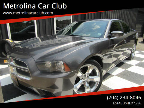 2014 Dodge Charger for sale at Metrolina Car Club in Matthews NC