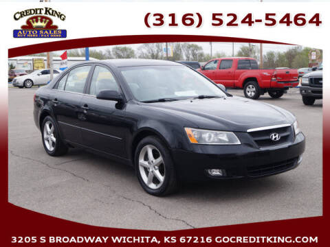 2007 Hyundai Sonata for sale at Credit King Auto Sales in Wichita KS
