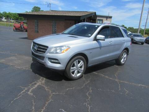 2012 Mercedes-Benz M-Class for sale at Riverside Motor Company in Fenton MO