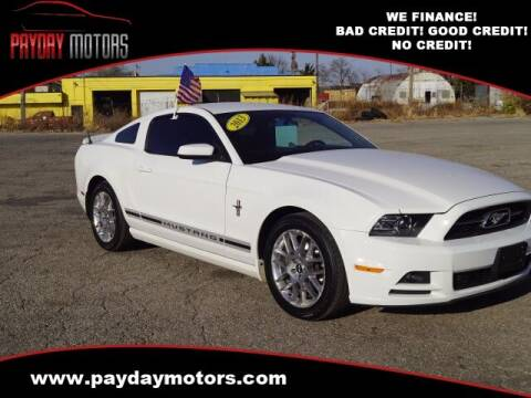 2013 Ford Mustang for sale at Payday Motors in Wichita And Topeka KS