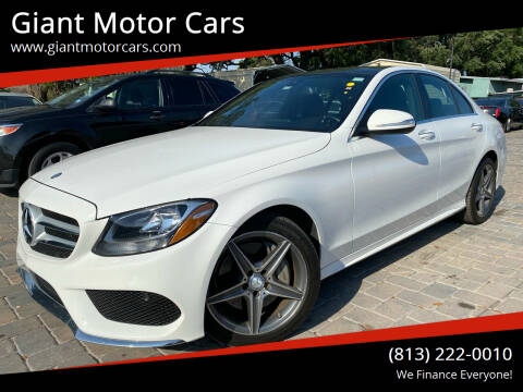 2015 Mercedes-Benz C-Class for sale at Giant Motor Cars in Tampa FL