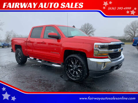 2018 Chevrolet Silverado 1500 for sale at FAIRWAY AUTO SALES in Washington MO