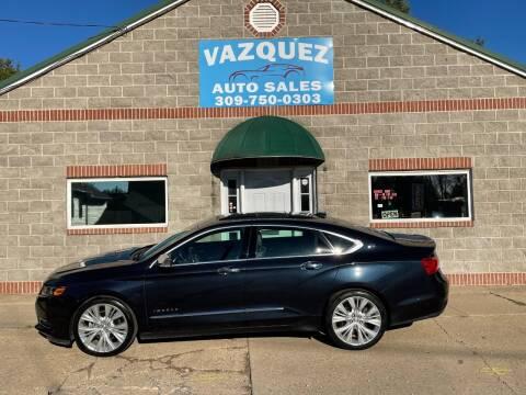 2014 Chevrolet Impala for sale at VAZQUEZ AUTO SALES in Bloomington IL