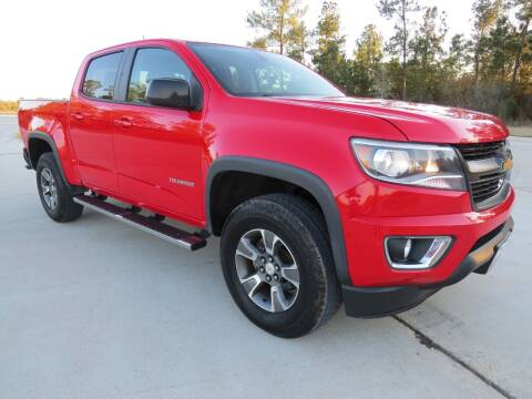 2016 Chevrolet Colorado for sale at Fincher's Texas Best Auto & Truck Sales in Tomball TX