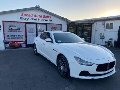 2017 Maserati Ghibli for sale at Speed Auto Sales in El Cajon CA