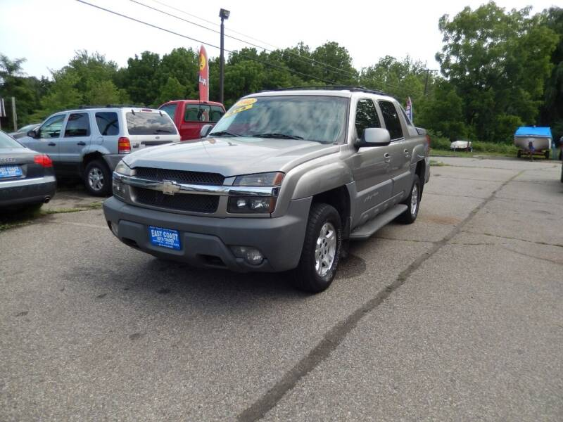 2002 Chevrolet Avalanche for sale at East Coast Auto Trader in Wantage NJ