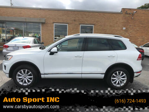 2015 Volkswagen Touareg for sale at Auto Sport INC in Grand Rapids MI