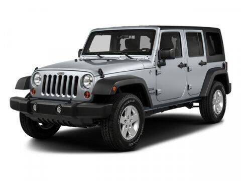 2017 Jeep Wrangler Unlimited for sale at J T Auto Group in Sanford NC