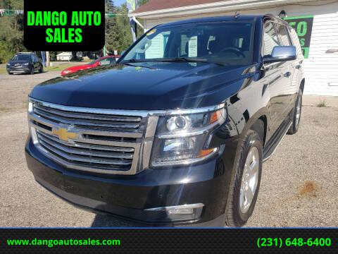2015 Chevrolet Tahoe for sale at DANGO AUTO SALES in Howard City MI