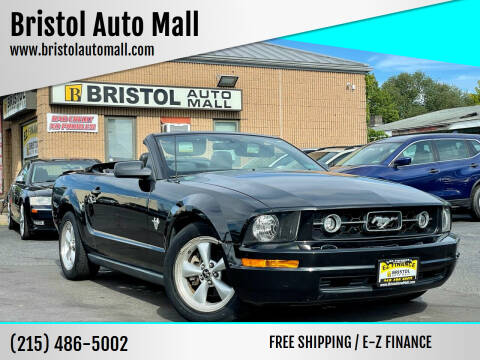 2009 Ford Mustang for sale at Bristol Auto Mall in Levittown PA