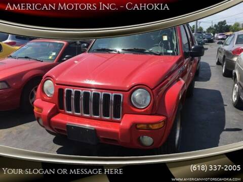 2003 Jeep Liberty for sale at American Motors Inc. - Cahokia in Cahokia IL