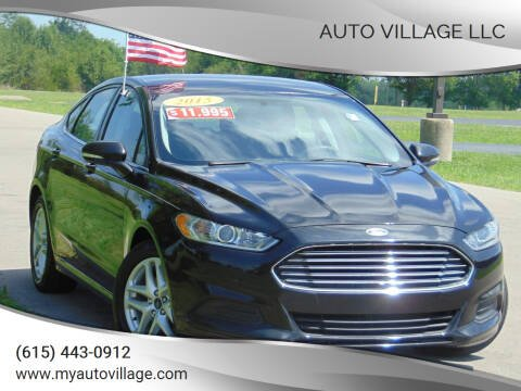 2015 Ford Fusion for sale at AUTO VILLAGE LLC in Lebanon TN