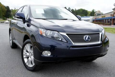 2010 Lexus RX 450h for sale at CU Carfinders in Norcross GA