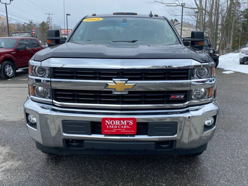 2015 Chevrolet Silverado 2500HD for sale at NORM'S USED CARS INC in Wiscasset ME