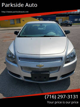2011 Chevrolet Malibu for sale at Parkside Auto in Niagara Falls NY