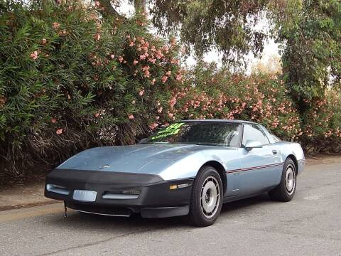 1984 Chevrolet Corvette for sale at Crow`s Auto Sales in San Jose CA