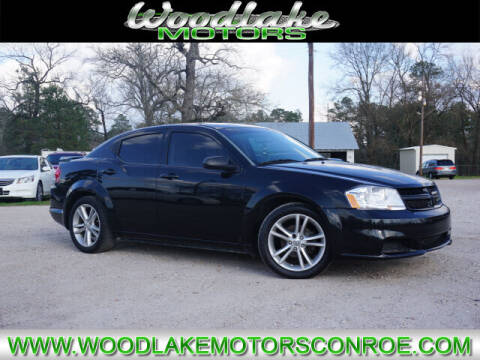2014 Dodge Avenger for sale at WOODLAKE MOTORS in Conroe TX