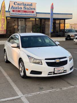 2012 Chevrolet Cruze for sale at Carland Auto Sales in Sacramento CA