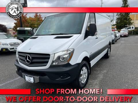2015 Mercedes-Benz Sprinter Cargo for sale at Auto 206, Inc. in Kent WA