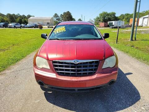 2007 Chrysler Pacifica for sale at Auto Guarantee, LLC in Eunice LA