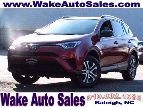 2018 Toyota RAV4 for sale at Wake Auto Sales Inc in Raleigh NC