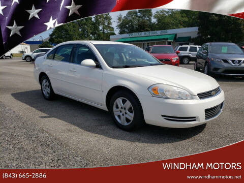 2007 Chevrolet Impala for sale at Windham Motors in Florence SC