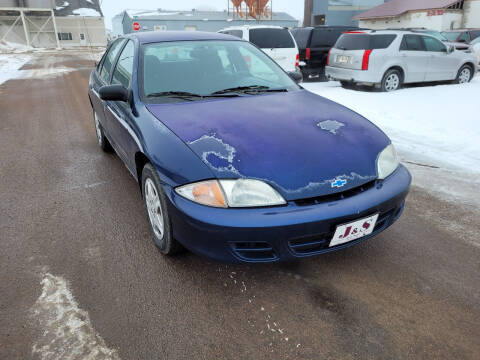 2002 Chevrolet Cavalier for sale at J & S Auto Sales in Thompson ND