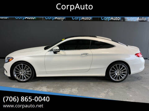 2017 Mercedes-Benz C-Class for sale at CorpAuto in Cleveland GA
