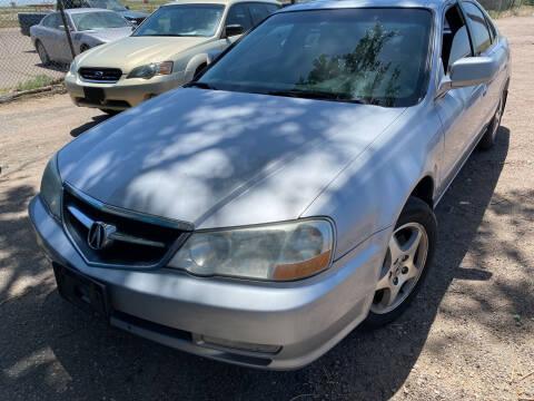 2003 Acura TL for sale at PYRAMID MOTORS - Pueblo Lot in Pueblo CO