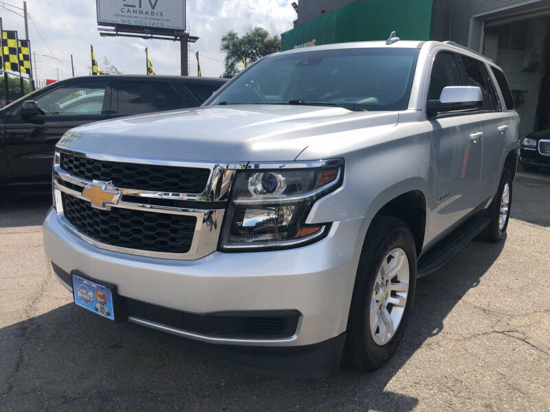 2017 Chevrolet Tahoe for sale at Champs Auto Sales in Detroit MI