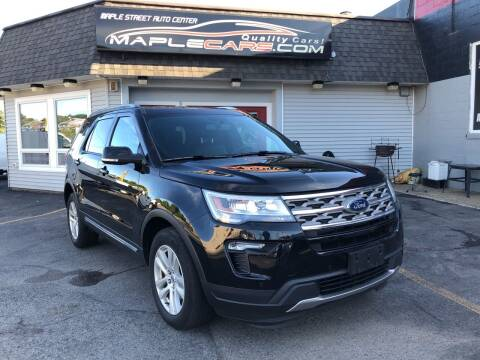 2018 Ford Explorer for sale at Maple Street Auto Center in Marlborough MA