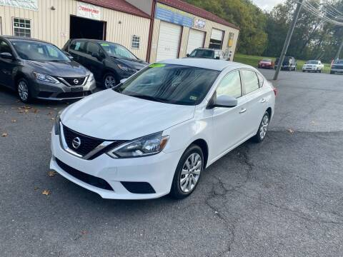 2018 Nissan Sentra for sale at THE AUTOMOTIVE CONNECTION in Atkins VA