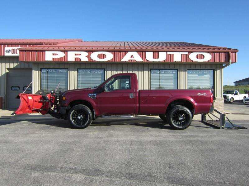 2008 Ford F-250 Super Duty for sale at Pro Auto Sales in Carroll IA