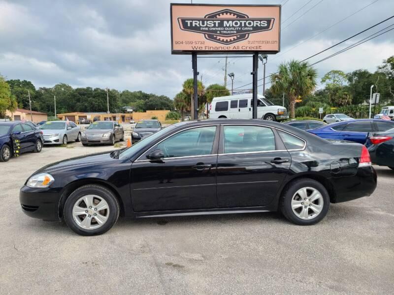 2012 Chevrolet Impala for sale at Trust Motors in Jacksonville FL