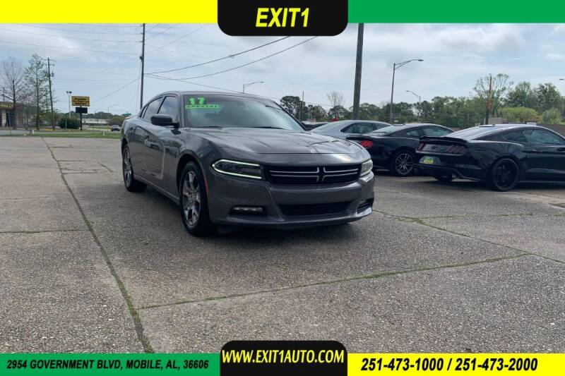 2017 Dodge Charger for sale at Exit 1 Auto in Mobile AL