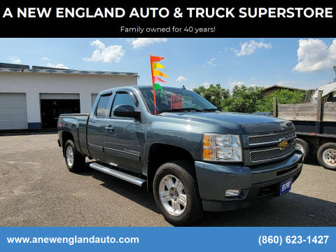 2013 Chevrolet Silverado 1500 for sale at A NEW ENGLAND AUTO & TRUCK SUPERSTORE in East Windsor CT