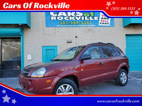 2009 Hyundai Tucson for sale at Cars Of Rockville in Rockville MD