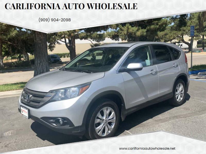 2012 Honda CR-V for sale at CARLIFORNIA AUTO WHOLESALE in San Bernardino CA
