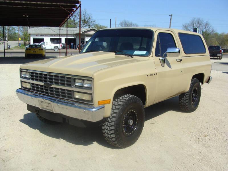 1991 Chevrolet Blazer for sale at Texas Truck Deals in Corsicana TX