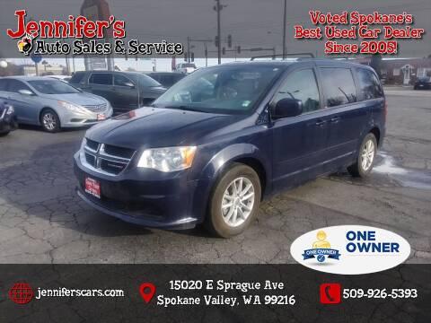 2013 Dodge Grand Caravan for sale at Jennifer's Auto Sales in Spokane Valley WA