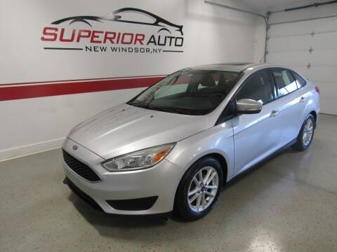 2015 Ford Focus for sale at Superior Auto Sales in New Windsor NY