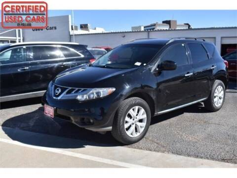 2013 Nissan Murano for sale at South Plains Autoplex by RANDY BUCHANAN in Lubbock TX