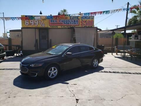 2017 Chevrolet Malibu for sale at DEL CORONADO MOTORS in Phoenix AZ